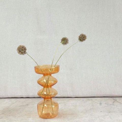 Farrah Vase Saffron