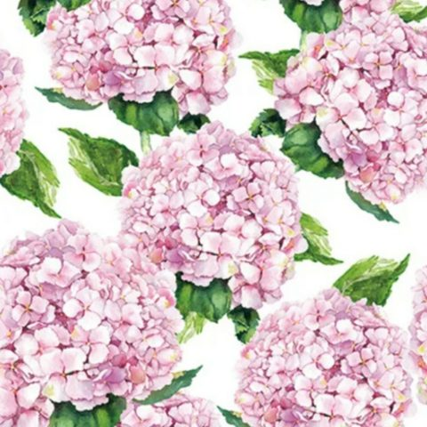 20pck 3ply 33cm Lunch Napkin-pink Hydy